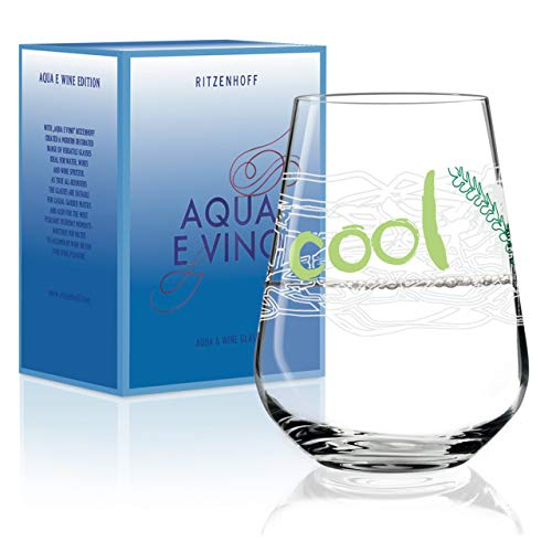 Ritzenhoff Aqua e Vino 3380006 - Copa de vino, cristal, color blanco...