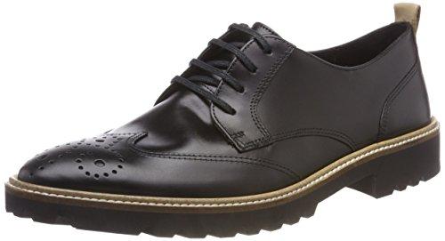 ECCO Damen INCISE Tailored Brogues, Schwarz (Black 1001), 40 EU