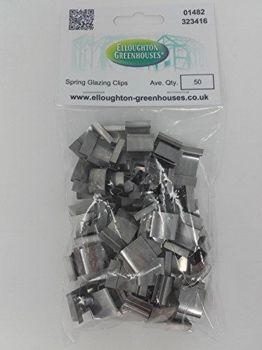 50 roestvrijstalen broeikas clips glazing echte elite kassen onderdelen