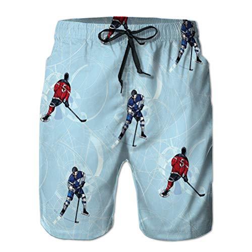 Xunulyn Hombres Core Slim Fit Bañador Ajustable Pantalones Cortos de Playa Jugadores de...