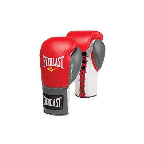 Everlast Erwachsene Boxartikel 2270 Powerlock Fight Gloves Lace Up, Red, Gr. XL
