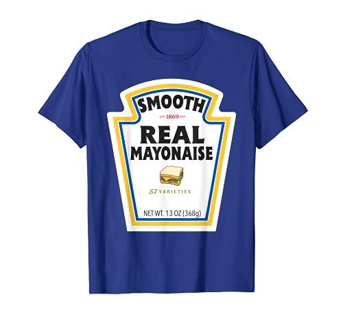 Etiqueta de botella de mayonesa real para disfraz de Halloween Camiseta