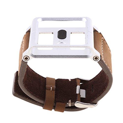 IPOTCH 1 Pieza x Pulsera de Silicona con 2 Piezas x Destornillador para iPod Nano 6th Gen de Marrón