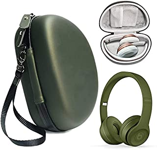 Turf Green Protective Case for Beats Solo 3 Wireless On-Ear Headphones, also for Solo 2 Wired and Solo HD, Featured in mat...