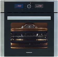 Tornado OV60EDFFS-3 Electric Stainless Steel Digital Oven with Fan and Grill - 64 L, Silver Black