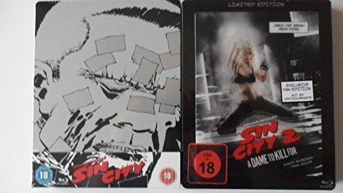 Sin City 2 - 1 x Blu ray Steelbook mit Lenticularcover