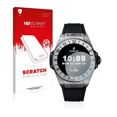 upscreen Protector Pantalla Compatible con Hublot Big Bang e Premier League Película Protectora – Transparente, Anti-Huellas