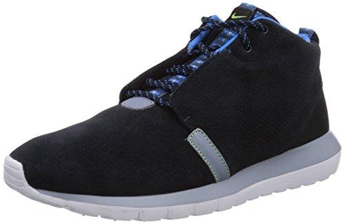 Nike Roshe Run Sneakerboot, Zapatillas de Estar por casa para Hombre, Negro (Black/New Slate-Magnet Grey 001), 47 EU