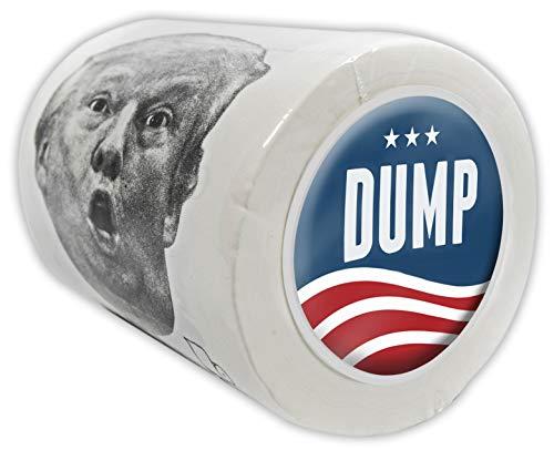 BUTTSWIPES Dump Toilet Paper Gag Gift Stocking Stuffer (1 Roll)