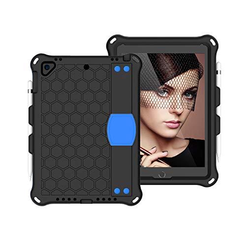 Funda de piel para Tablet PC Para el caso del iPad Pro 9.7, para el nuevo caso del iPad 2018/2017, para la cubierta Air2 Air2 de iPad Air2 Tablet Tablet EVA con correa de hombro y correa de mano, para