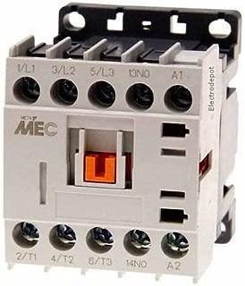 Miniature Power Contactor 3 Pole, AC1, 20Amp - AC3, 12Amp, 600V, Coil 12VDC, Mini 12V