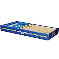 Corrugated scratching surface to sharpen and remove the dead outer layer of the cats claws. Satisfies cats natural scratching instincts and enables cats to stretch their bodies and to work of energy Helps protect furniture from claw damage Catnip Sac...