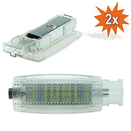 Do!LED D04 2x LED SMD LED Make Up Spiegel Schminkspiegel Beleuchtung Plug & Play Kalt Weiß