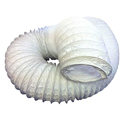 Kair - Manguera Flexible de PVC de 127mm (diámetro Exterior de 133mm), 3m de Longitud, de plástico PVC, para conductos de ventilación, SYS-125 - DUCP0092/127/35