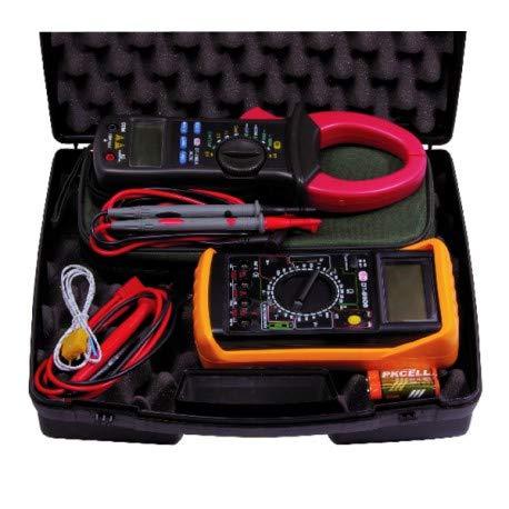 Expert by net - Koffer elektrische Messung - Multimeter und Strommesser Zange