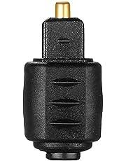 Optische Audio Adapter 3.5mm Vrouwelijke Jack Plug Naar Digitale Toslink Mannelijke 3.5mm Vrouwelijke Plug Digitale Toslink
