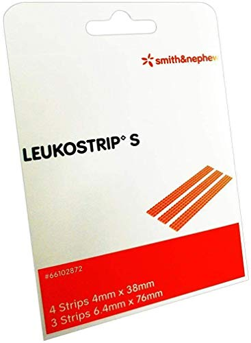 LEUKOSTRIP S Wundnahtstreife 2 P