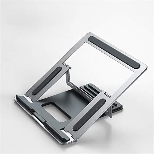 GIAOGIAO Computerhalterung Notebook Aluminiumlegierungs-Falten-tragbarer Wärmeableitungs-Desktop-Anheben des Computers angehobener Rahmen