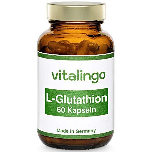 L-Glutathion Kapseln (reduziert) - 60 Kapseln à 350g - je Kapsel 250mg L-Glutathion (reduziert)