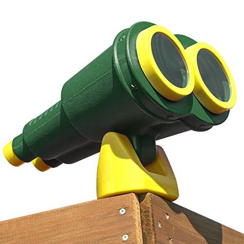 Gorilla Playsets 07-0041-G/Y Jumbo Binoculars, Non-Magnifying - Green/Yellow