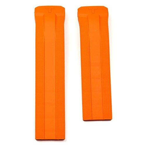 Cinturino in Gomma, Colore: Arancione, Mod. T610034735,per Orologio Tissot T-Touch Expert Solar Mod. T091420A
