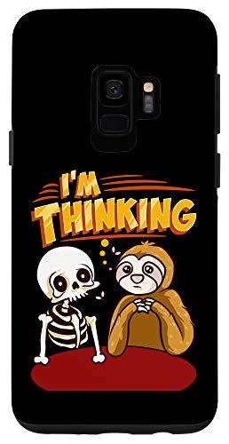 Galaxy S9 Waiting Skeleton Thinking Meme Dead Case