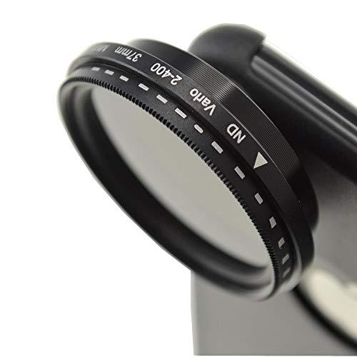 System-S Vario Graufilter ND-Filter ND2-400 37mm Linse Objektiv für iPhone 11 Pro Max