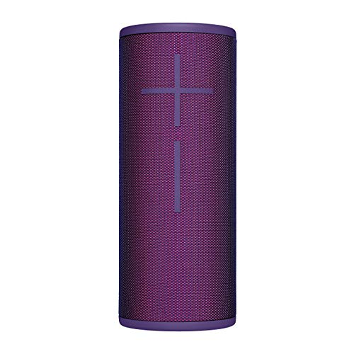 Ultimate Ears Boom 3 Tragbarer Bluetooth-Lautsprecher, 360° Sound, Satter Bass, Wasserdicht, Staubresistent & Sturzfest, One-Touch-Musiksteuerung, 15-Stunden Akkulaufzeit - ultraviolet purple/lila