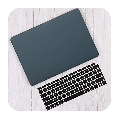 Hard Shell Case Cover for 2020 for MacBook Pro 13 16 TouchBar A2289 A2338 Air 13 inch A2337 A2179-Luminous Green-Air 11 A1465 A1370