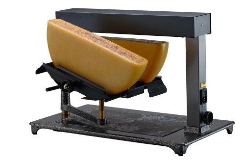 TTM Schweizer Raclettegerät Super für 1 oder zwei 1/2 Käselaibe
