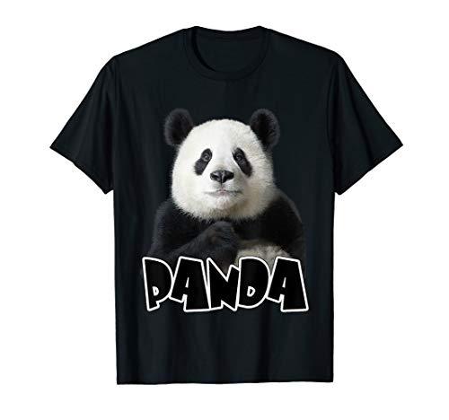 Giant Panda T Shirt/ Panda Lovers Tee