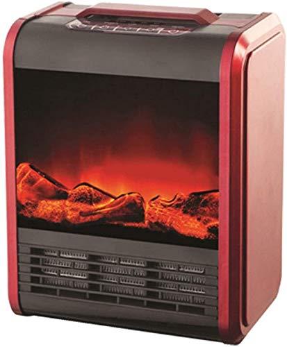 Chimenea independiente estufa eléctrica portátil chimenea de calefacción fuego zona de ocio...