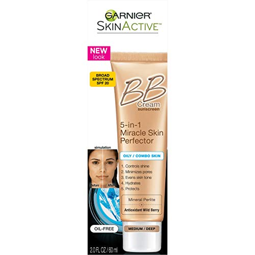Garnier Skin Renew Miracle Skin Perfector Bb Cream, Combination To Oily Skin,...