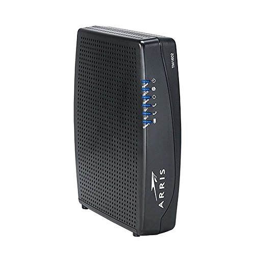 Arris Touchstone TM1602A DOCSIS 3.0 Upgradeable 16x4 Telephony Modem for TWC & Optimum (Renewed)