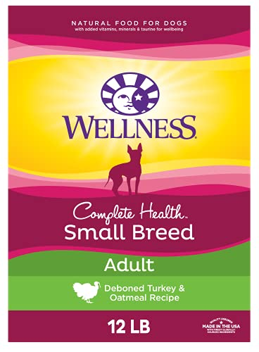 Wellness Complete Health Natural Dry Small Breed Dog Food