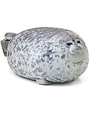 BOLANA Chubby Seal Throw kuddar stor kramkudde för barn ocean djur fylld plysch lugnande kudde för barn gåva