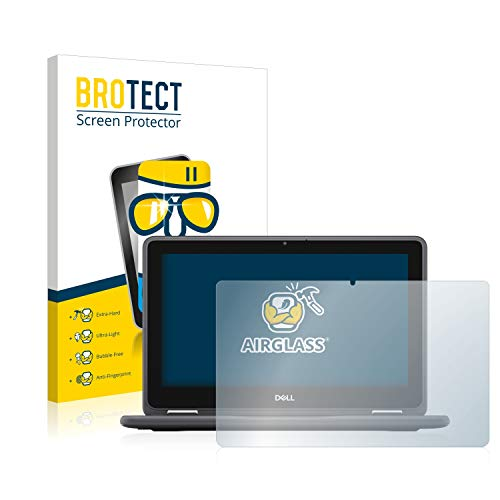 BROTECT Panzerglas Schutzfolie kompatibel mit Dell Latitude 3190 2-in1-9H Extrem Kratzfest, Anti-Fingerprint, Ultra-Transparent
