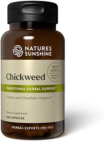 Nature s Sunshine Chickweed 100 Capsules product image