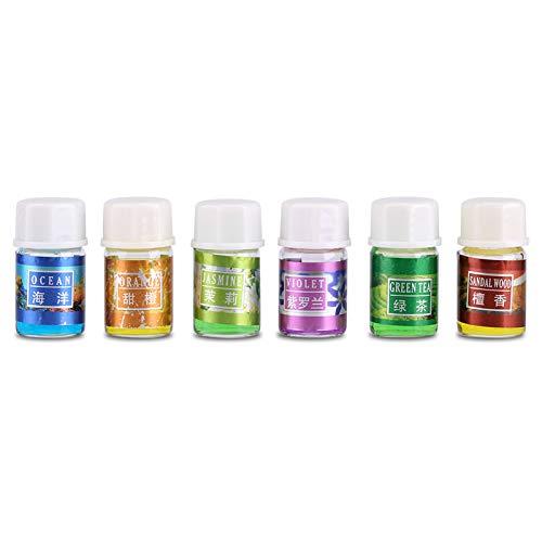 12Pcs / Set Aceites Esenciales, 12Pcs / Set Aceite Esencial Soluble En Agua Refrescante Y Alivia El Estrés No Tóxico Y Soluble En Agua Para Humidificador De Aromaterapia
