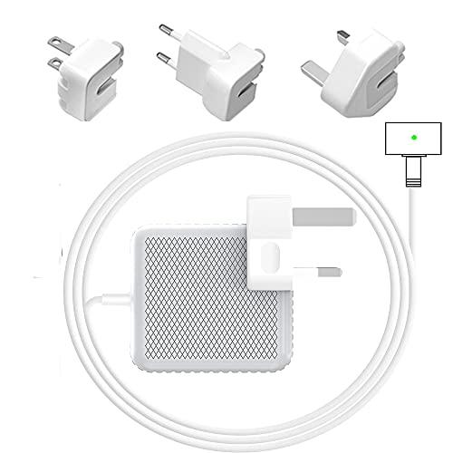 Compatible con el cargador Mac Pro con Reino Unido, UE y enchufe de EE. UU. incluido, reemplazo de 85 W Mac Air Charger para MacBook de 13 pulgadas y 15 pulgadas y 17 pulgadas (después de 2012 Late)