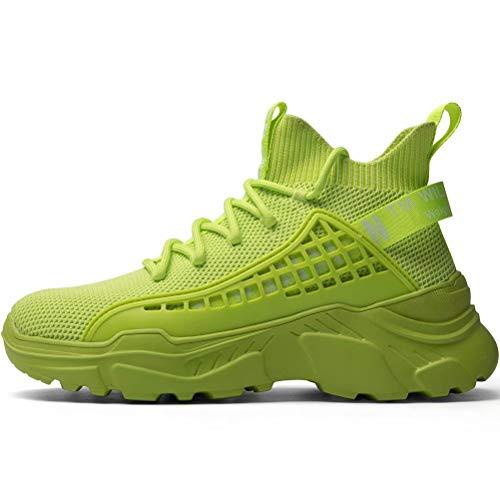 SANNAX Mujer Zapatillas Moda Deportivas Zapatos Casuales Corriendo Caminando Transpirable Ligero Cómodo