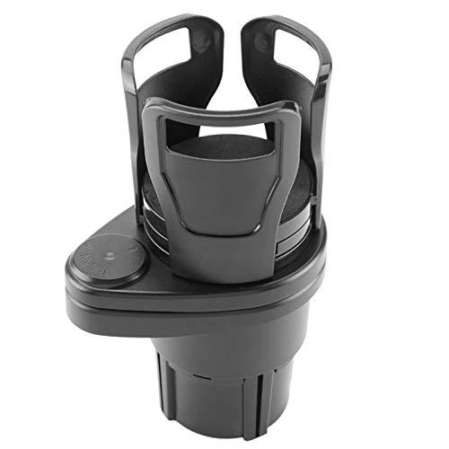 haohaiyo Soporte universal para bebidas de coche, 2 en 1, soporte para botellas de café, soporte para bebidas ajustable, universal para la mayoría de los coches