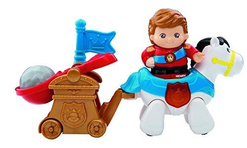 VTech Baby 80-177204 - Kleine Entdeckerbande, Prinz Henry mit Pferd