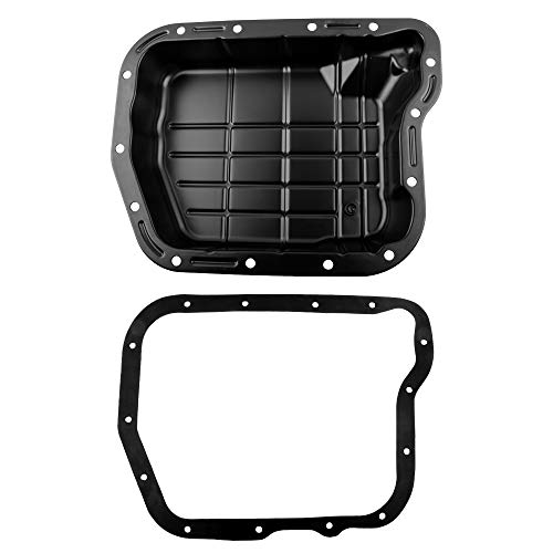 BOXI Transmission Oil Pan with Gasket Compatible with Dodge Ram 1500 2500 3500 Durango Dakota B1500 B2500 B3500 (For 4-Speed Automatic Transmission 46RE / 47RE / 48RE) 52118780AD 265-827