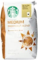 スターバックス Starbucks ブレックファースト ブレンドコーヒー ホールビーン(コーヒー豆)340グラム スタバ [並行輸入]