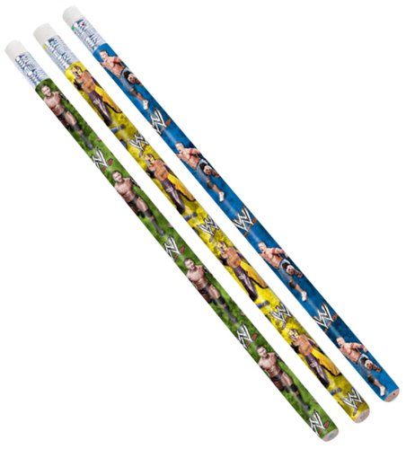 AMSCAN INC. WWE Pencils