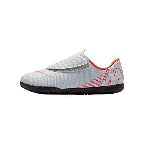 Nike Jr Vapor 12 Club Ps (V) Ic, Zapatillas De Fútbol Sala Unisex Niño, Multicolor (Wolf Grey/Lt...