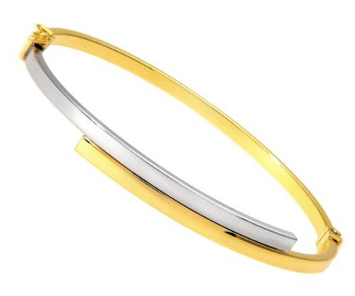Citerna Damen-Armband 9 Karat 375 Bicolor SIL034