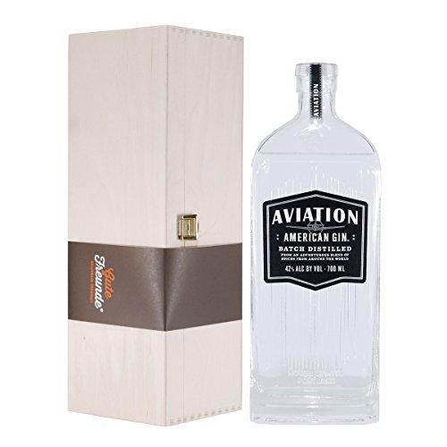 Aviation American Gin mit Geschenk-Holzkiste