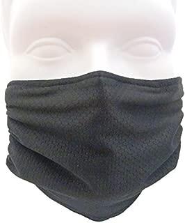 Breathe Healthy Honeycomb Black Mask - 2 Pack Deal! Seasonal Allergy, Pollen, Dust Mask
